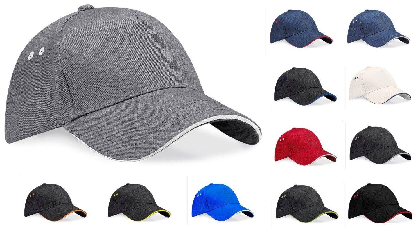 06a331d0aa562f Beechfield Ultimate Cotton Contrast Cap – Toms Cabin