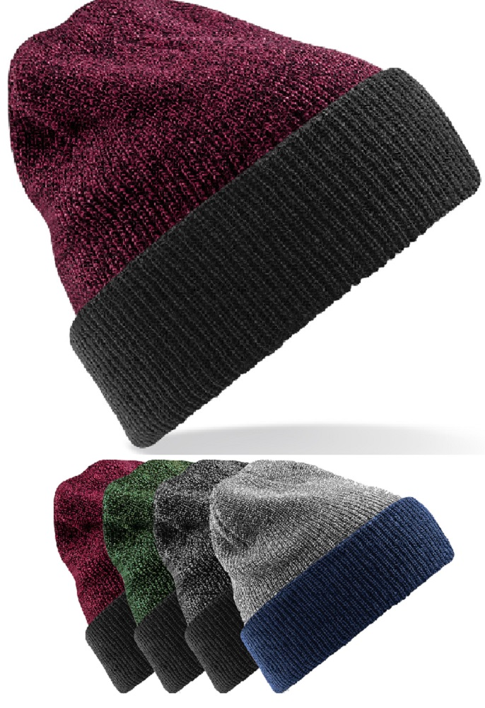 09f2b300 Beechfield Reversible Heritage Beanie An. burg./ – Toms Cabin