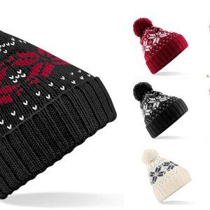 Snowstar Bobble Pom Pom Ski Hat Beanie
