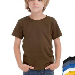 Hanes Girls Boys Kids Childs Blank Plain Organic Cotton Tee T-Shirt Tshirt ee84b17fc